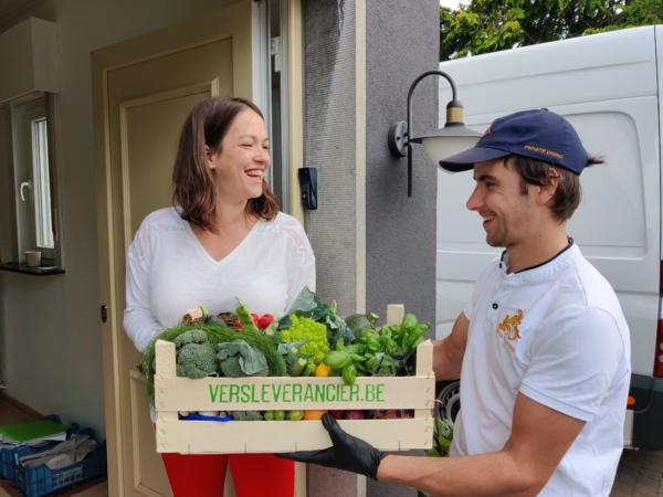 groenten levering